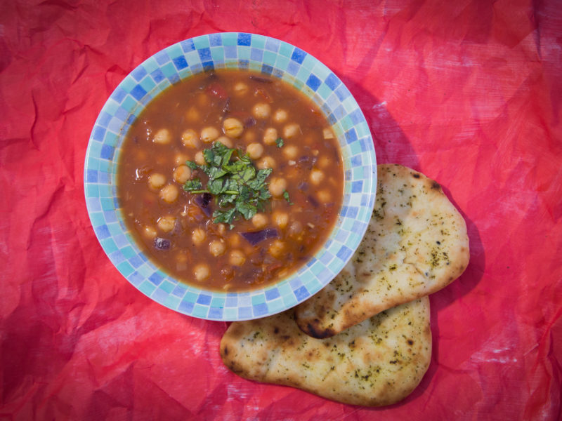 Low Carbon Eating - E.Mission - Chickpea Curry